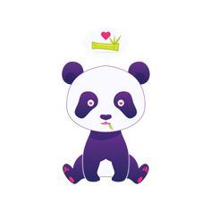 Bolsa Panda  do Studio Joiltonmelo por R$70,00