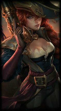 League of Legends- Captain Fortune