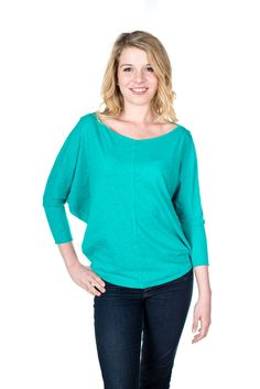 Velvet by Graham and Spencer Joss Dolman Sleeve Top, Cypress, XS at Amazon Women's Clothing store: