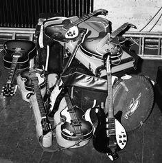 """I AM THE WALRUS"" — Beatles tour kit."