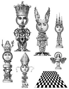 Chess Set - Lost Coast Designs