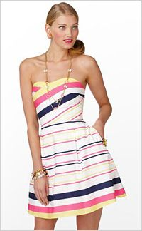 Bright stripes - resort wear