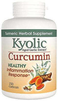 Kyolic Curcumin Herbal Supplement, 150 Count -- Trust me, this is great! Click the image. : Healthy Herbal Supplements