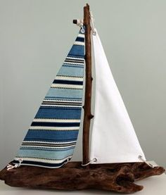 sailboat... shelena gave me a piece of driftwood that would be perfect for this