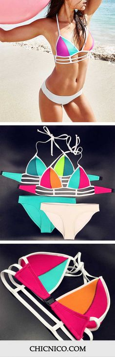 Time to let your bikini do the talking! It's going to look so hot on you as you are enjoying the sunshine on the beach! Here is our big surprise – ONLY $16.99! More heated bikinis are waiting for you at CHICNICO.com!