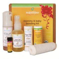 Perfect Christmas gift for new mothers and babies:  Mambino Organics Mommy & Baby Bonding Kit http://www.beautorium.com/natural-organic-bath-body-1/beauty-kits-103/mambino-organics-mommy-baby-bonding-kit-1223.html?utm_source=para_medium=pinterest