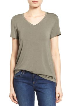 Modal Jersey V-Neck Tee (Regular & Petite)
