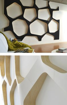 Indoor wooden 3D Wall Surface EO SYSTEM by Wallia @walliawallscape