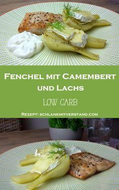 Fenchel mit Camembert und Lachs low carb Lust auf frischen Wind in der low carb Küche? Dann probiert mal Fenchel mit Camembert und dazu Lachs und Kräuterquark. Das Gericht ist schnell zubereitet un…