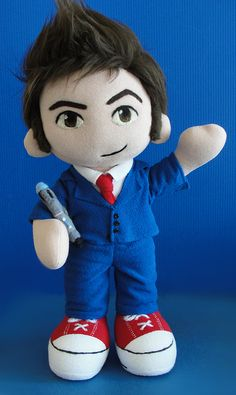 The Tenth Doctor, Doctor Who plush
