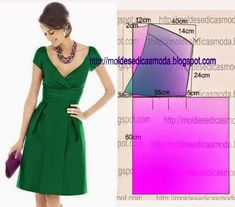 Various types of dresses and there styles - Explore Trending Sewing Patterns Free, Clothing Patterns, Dress Patterns, Fashion Sewing, Diy Fashion, Ideias Fashion, Diy Clothing, Sewing Clothes, Costura Fashion