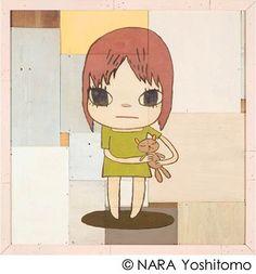 ≪My Bear≫ 2012 アクリル・板 174.0×174.0×9.0cm ©NARA Yoshitomo 撮影:木奥惠三