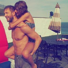 Taylor Swift and Calvin Harris's Hands-Down Cutest Moments