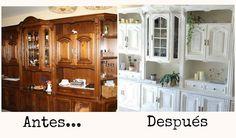 Diy: transformación y decapado de un mueble | Manualidades