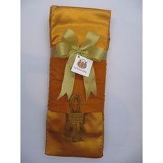 a83f43c403 เลือกในแบบคุณพร้อมบุญ - ผ้าไตรเต็มมัสลิน สีพระราชนิยม+