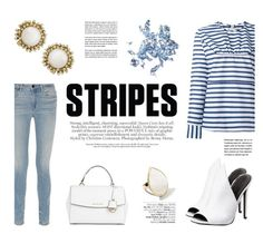 """""""One Direction: Striped Shirts"""" by katsin90 ❤ liked on Polyvore featuring mode, Marni, Alexander Wang, Kendall + Kylie, Kendra Scott, Michael Kors, Avenue, Glitter Injections, Ippolita en stripes"""