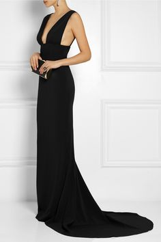STELLA MCCARTNEY Kimberly stretch-cady gown €2,345.00 http://www.net-a-porter.com/products/504601