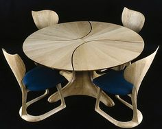 Lily Pad Table by Michael Coffey