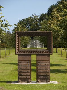 Glenrothes Town Art - The Forest Screens are framed in the Riverside Park by Historic Scotland, via Flickr
