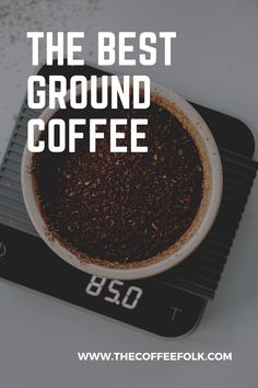 What is the best ground coffee? We've researched many ground coffees on the market to bring you the top 10 best ground coffees. Ground Coffee, Folk, Good Things, Folk Music, Popular, People
