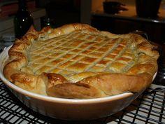 Jamie Oliver's Steak, Guiness & Cheese Pie.