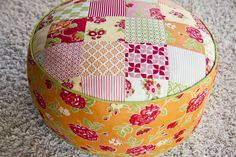 120-Minute GIft: Tea Party TuffetsTutorial on the Moda Bake Shop. http://www.modabakeshop.com