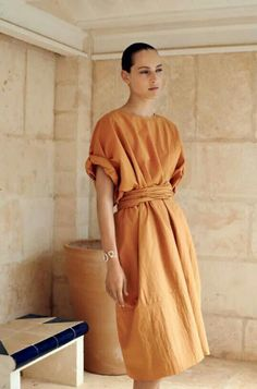 Minimal linen style