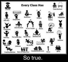 #class #friends #college #school