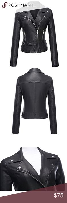 Rio Sexy Black Brazilian Black Faux Leather Jacket Brand new. See size chart for specs. High quality. Available in black or wine-red. Jackets & Coats