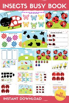 Primary Resources, Reading Resources, Toddler Learning, Early Learning, Preschool Centers, Butterfly Life Cycle, Abc Activities, Activity Sheets, Busy Book