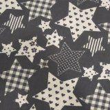 http://ift.tt/1NTidIF 05m Stoff Sterne mit Muster unterschiedliche Größen gemustert grau Reviews