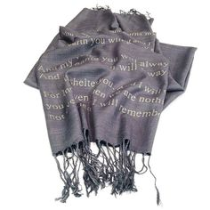 House of Leaves You Shall Be My Roots Quote Scarf by YarnPlusInk I Will Remember You, Give It To Me, Roots Quotes, Mark Z, House Of Leaves, My Roots, Womens Fashion, Poem, Beautiful Things