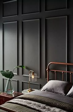 The 10 Grey Paint Colours Designers Always Use Grey, everyone's favourite warm neutral, is a go-to for cabinets, walls and more. Here's the top 10 grey paint colours that designers always use. Grey Paint Colors, Interior Paint Colors, Home Interior Design, Dark Gray Paint, Interior Painting Ideas, Home Decor Paintings, Interior Walls, Interior Paint Palettes, Home Painting Ideas