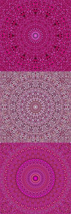 Buy 12 Pink Floral Mandala Seamless Patterns by DavidZydd on GraphicRiver. 12 seamless floral mandala pattern backgrounds in pink tones DETAILS: 12 JPG (RGB files) size: 12 geometr. Mandala Pattern, Mandala Design, Mandala Art, Pink Tone, Pink Patterns, Surface Pattern Design, Repeating Patterns, Background Patterns, Colorful Backgrounds