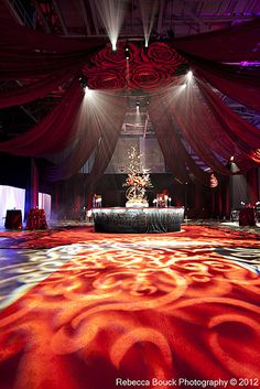 The Wedding Event - TSE 2012.   Lighting by Bay Stage Lighting