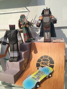 Shredder is going to try skateboarding the ramp? This is a must see! ‪#‎TMNT‬