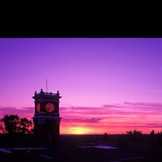 Where I worked 2 summers in the Honors Program, Pullman was beautiful in the summer, great people & memories! Gorgeous... Pullman-Bryan hall clock tower at sunset