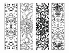 Bookmarks to Print and Color Bookmark by LittleShopTreasures ...