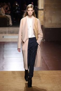Hermes Fall 2014. See all of the best runway looks from Paris Fashion Week here.