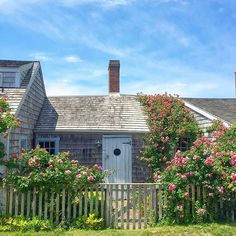 On these dark days of winter I have a bad case of Wanderlust Wednesday craving the sunny summer days in Sconset. Cannot wait to get back to ACK. Nantucket Style, Nantucket Island, Brant Point Lighthouse, New England, Travel Guide, Scenery, Cottage, Vacation, House Styles