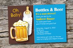 Baby Shower Gifts Diaper Party Favors Raise a Beer 1467 Couples Baby Shower Baby Shower Baby Shower Baby Shower Favors