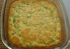 torta e sufle de abobrinha