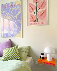 Bedroom Colors, Bedroom Decor, Room Inspiration, Interior Inspiration, House Of Gold, Pastel Room, Welcome To My House, College Room, Retro Home