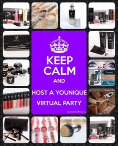 Want free makeup???? Host a virtual party with Younique and that's exactly what you could have! I'll give you a party link that your friends can shop direct online from and you get the party points to spend on free goodies for yourself! Message me or visit www.youniqueproducts.com/jennydyson