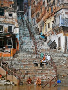 """ ""Stairway To Heaven"" Varanasi - India """