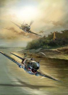 Aviation Pin Ups Rc Tank, Imagenes Mary Kay, Propeller Plane, Rc Autos, Dream Machine, Nose Art, Dark Horse, World War Ii, Wwii