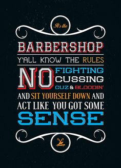 - from Barbershop by Murs