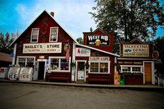 Nagley's General Store in Talkeetna, Alaska
