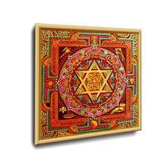 #GANESH YANTRA #ENERGETISCHE_Kunst von #Art_Heil_Studio #Dr_Mariia_Bohach (#MariRich) #kunst #malerei #regenbogen #jubilaum #muttertag #mandala #yantra #geschenk #geburtstag #meditation #art_therapie Ganesh Yantra, Golden Anniversary Gifts, Meditation, Studio, Mandala, Etsy, Vintage, Cards, Art Therapy