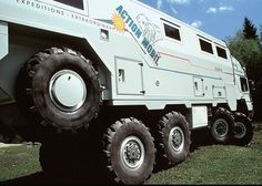 custom from Action Mobil in Austria with Fischer Panda generator mounted under chassis between wheels. I searched for this on /images Hors Route, Off Road Camping, Adventure Campers, Bug Out Vehicle, Expedition Vehicle, Truck Camper, Armored Vehicles, Big Trucks, Motorhome